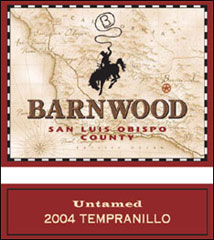 Barnwood Vineyards - San Luis Obispo County Tempranillo